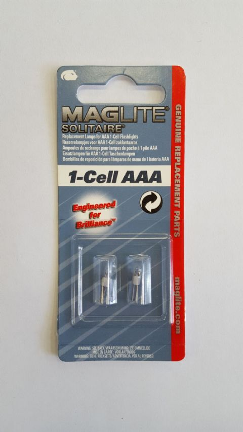 Maglite 1-Cell AAA Replacement Bulb for Maglite 1-Cell Torches